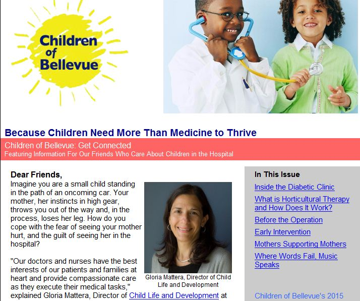 Child Life Newsletter